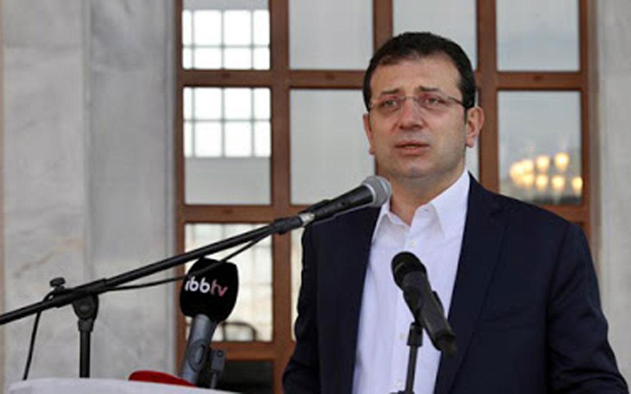 Ekrem İmamoğlu'ndan tepki: Bakanlık ısrarla Osmanlı mirası yapıyı yıkıyor