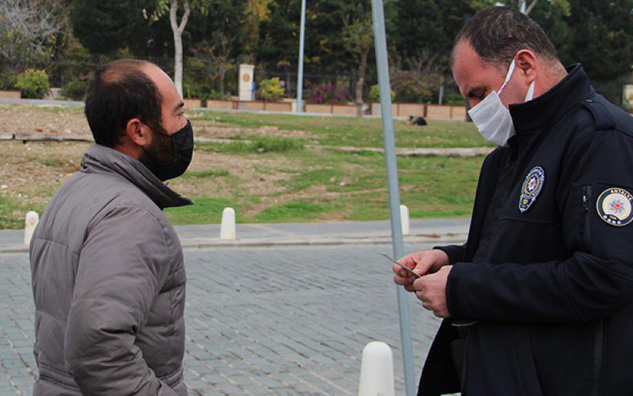 Antalya'da kısıtlamada yediği para cezasıyla Türkiye tanımıştı Ankara'da hayatı değişti