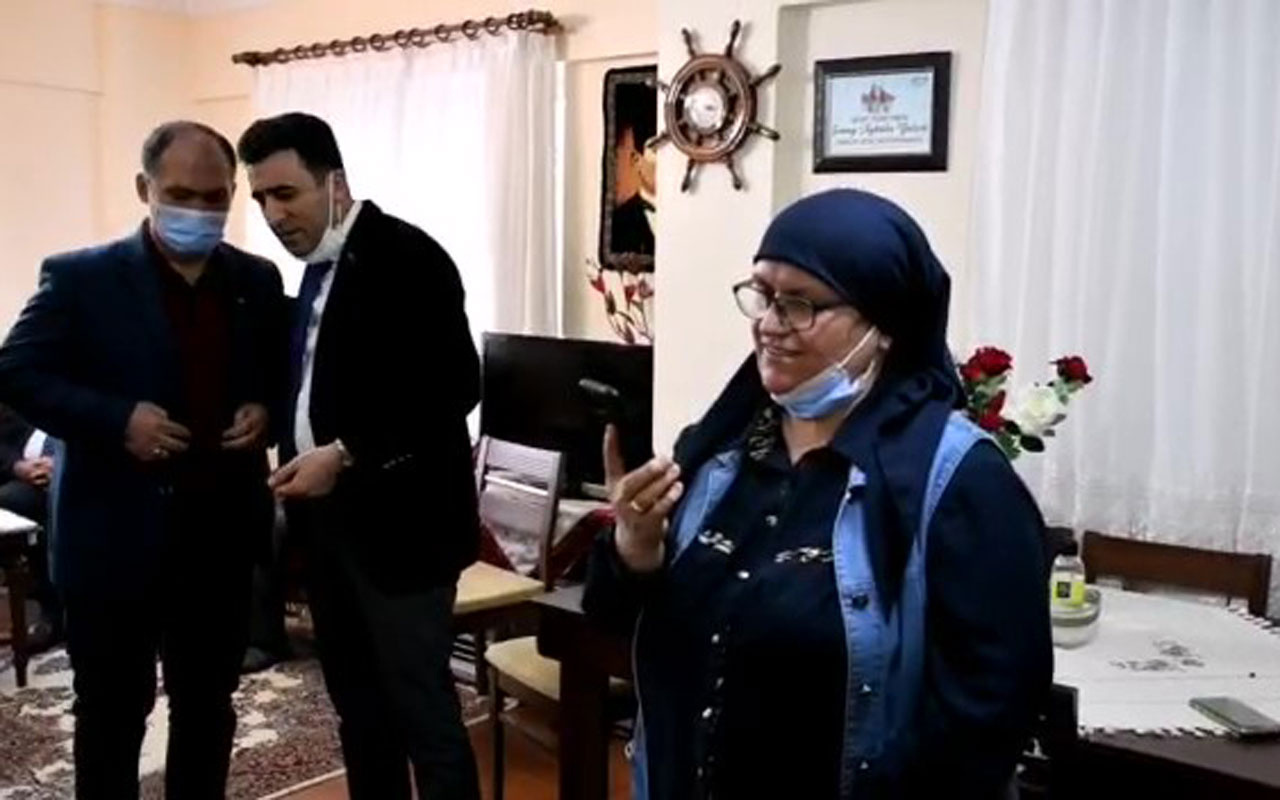 İçişleri Bakanı Süleyman Soylu Aybüke öğretmenin ailesi ile görüştü
