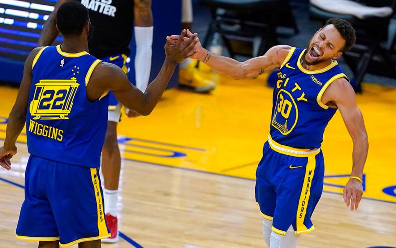 Golden State Warriors 21 sayı geriden gelip kazandı