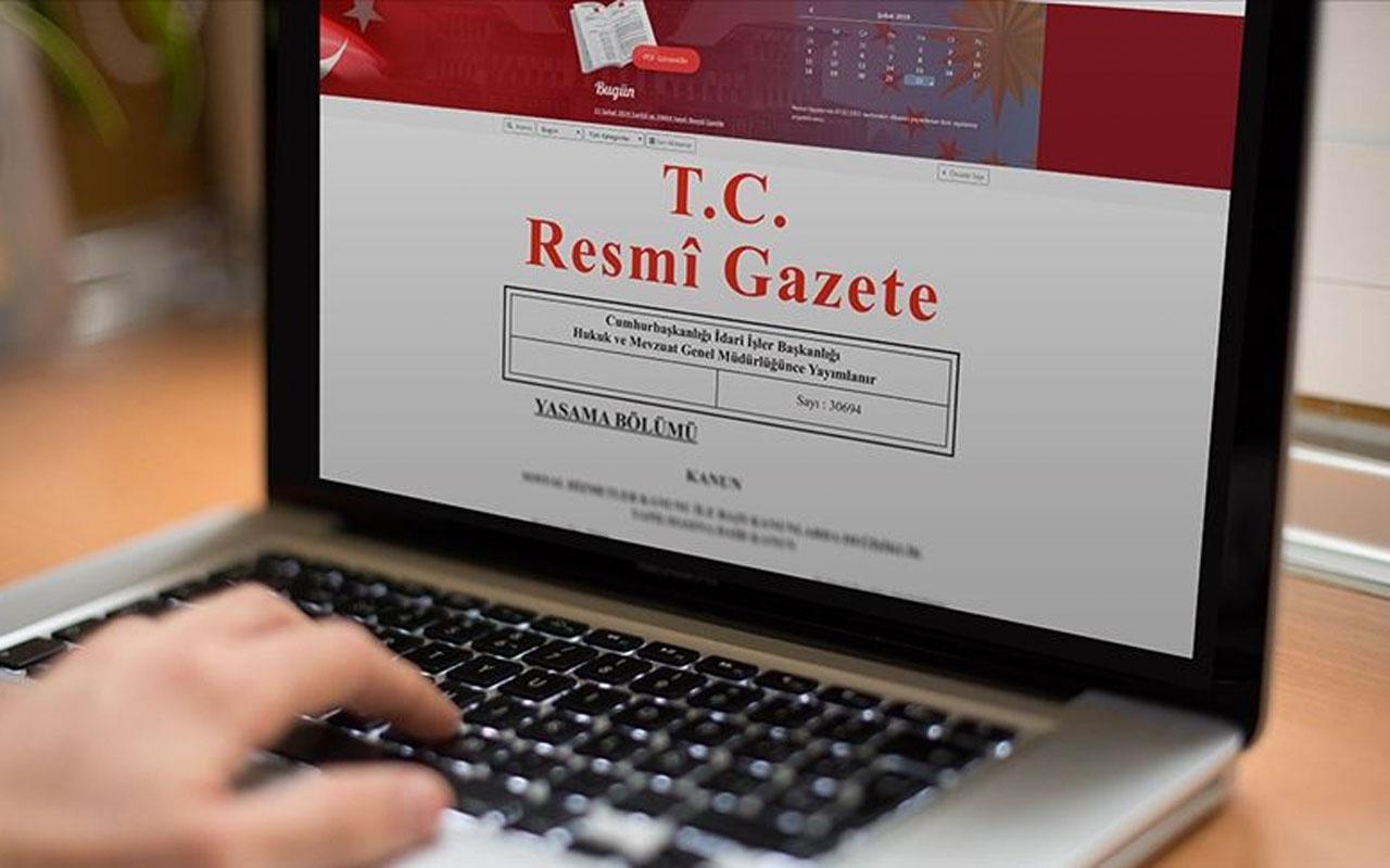 Cumhurbaşkanı Erdoğan imzaladı atama kararları Resmi Gazete'de