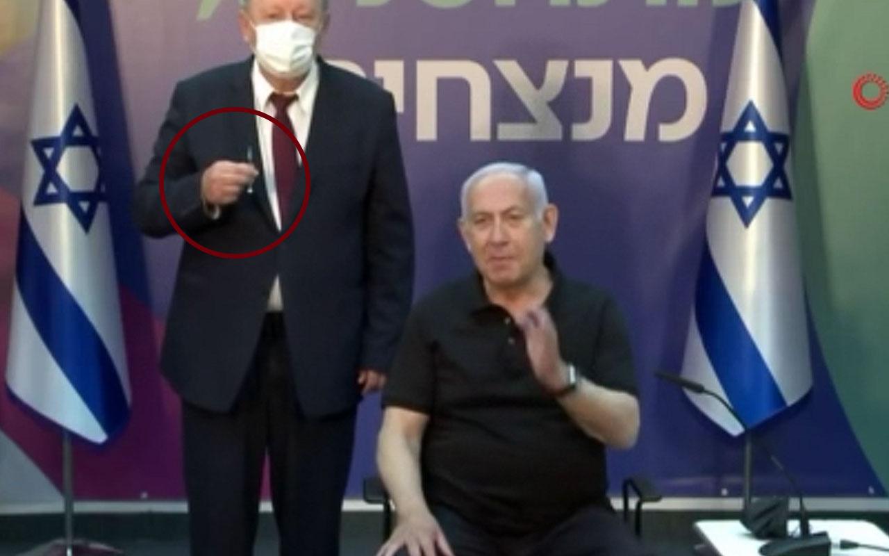 İsrail Başbakanı Netanyahu koronavirüs aşısının ikinci dozunu yaptırdı