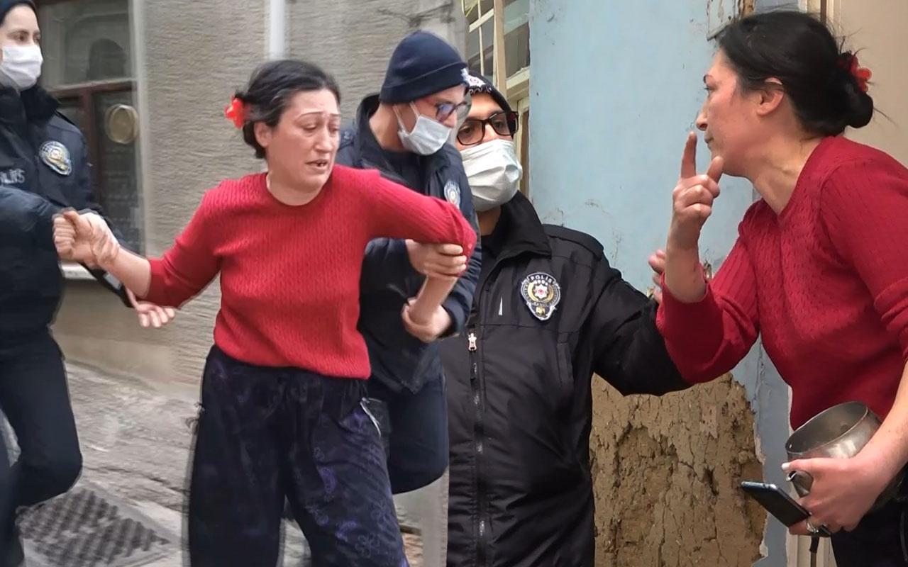 Bursa'da mahalleyi birbirine kattı! Polislere çaydanlıkla direndi söyledikleri inanılmaz