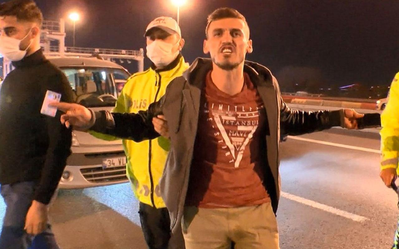İstanbul'da kısıtlamayı ihlal eden şahsın bahanesine bakın şaşkına çevirdi