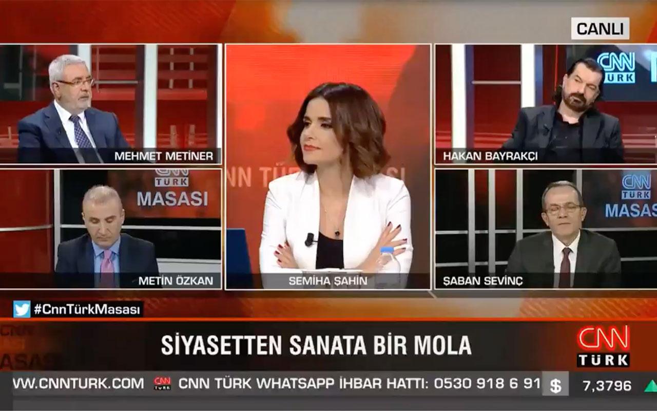 Mehmet Metiner CNN Türk canlı yayınında türkü söyledi! 'Yolun sonu görünüyor' ama kime?