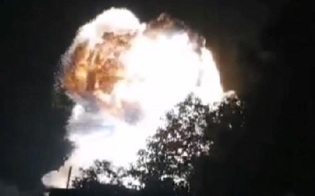 Çin'de batarya fabrikasında şiddetli patlama! 1 kişi öldü, 20 yaralı var