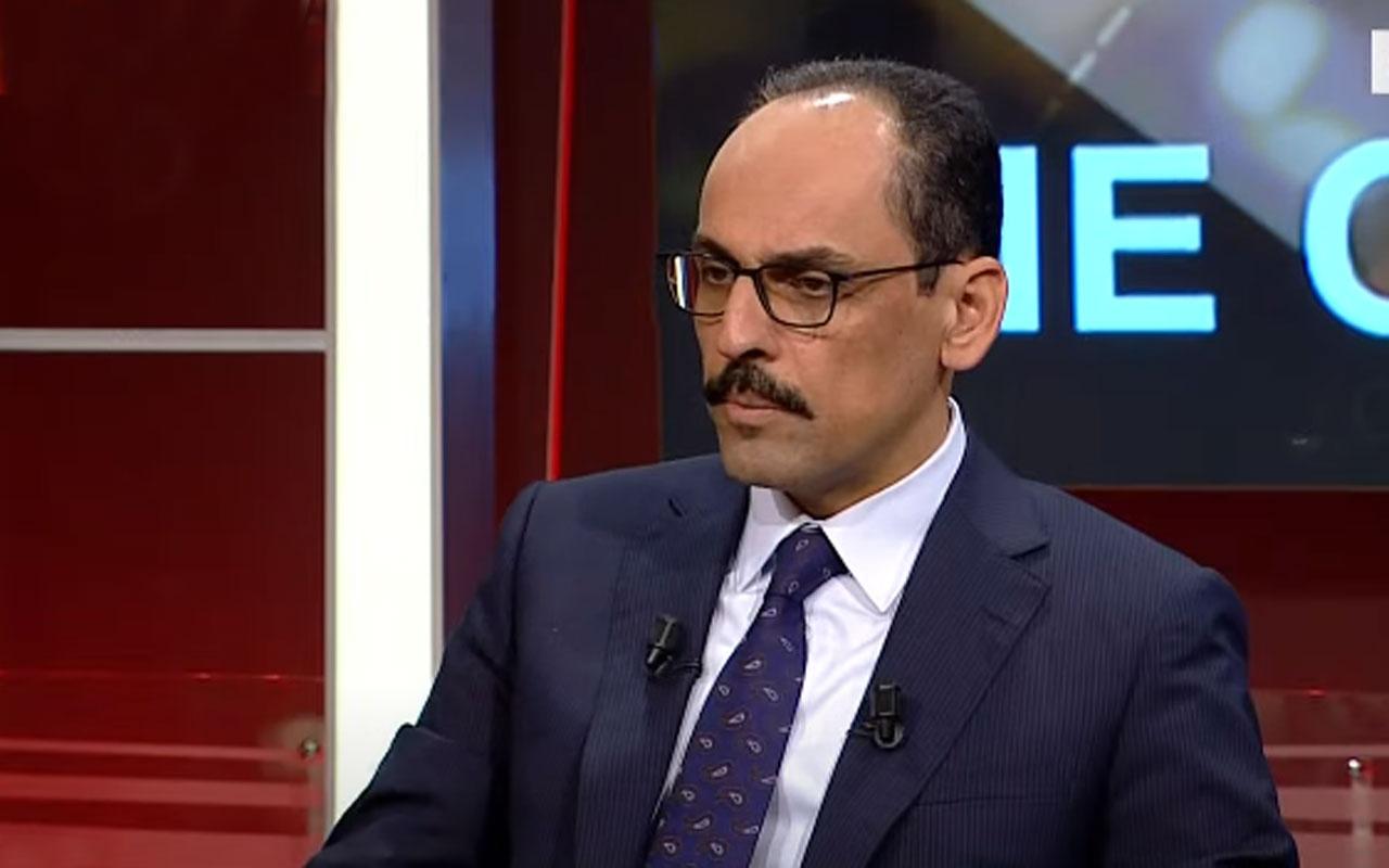 """İbrahim Kalın'dan """"Boğaziçi"""" açıklaması"""