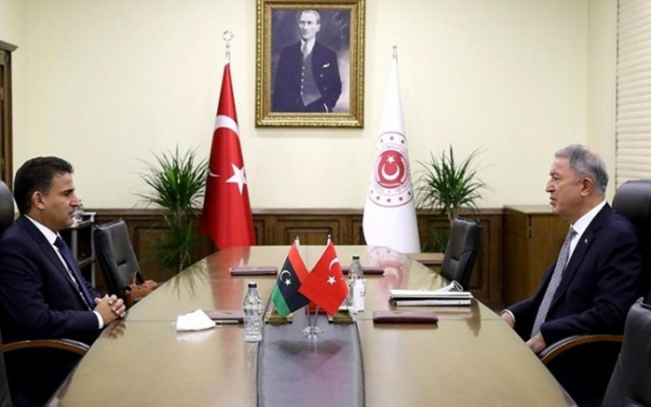 Bakan Hulusi Akar'dan Libya Savunma Bakanı Nemruş ile kritik görüşme