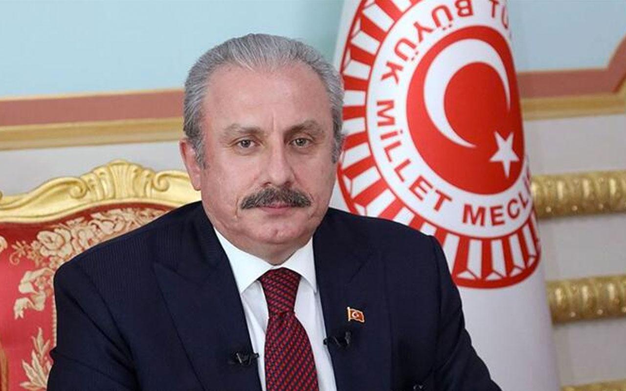 TBMM Başkanı Mustafa Şentop'tan son dakika açıklamalar