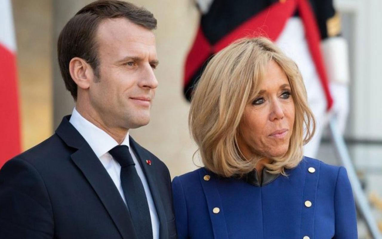 Fransa Cumhurbaşkanı Macron ve eşine tepki yağıyor! Elysée Sarayı'na 600.000 Euro 'luk çiçek iddiası