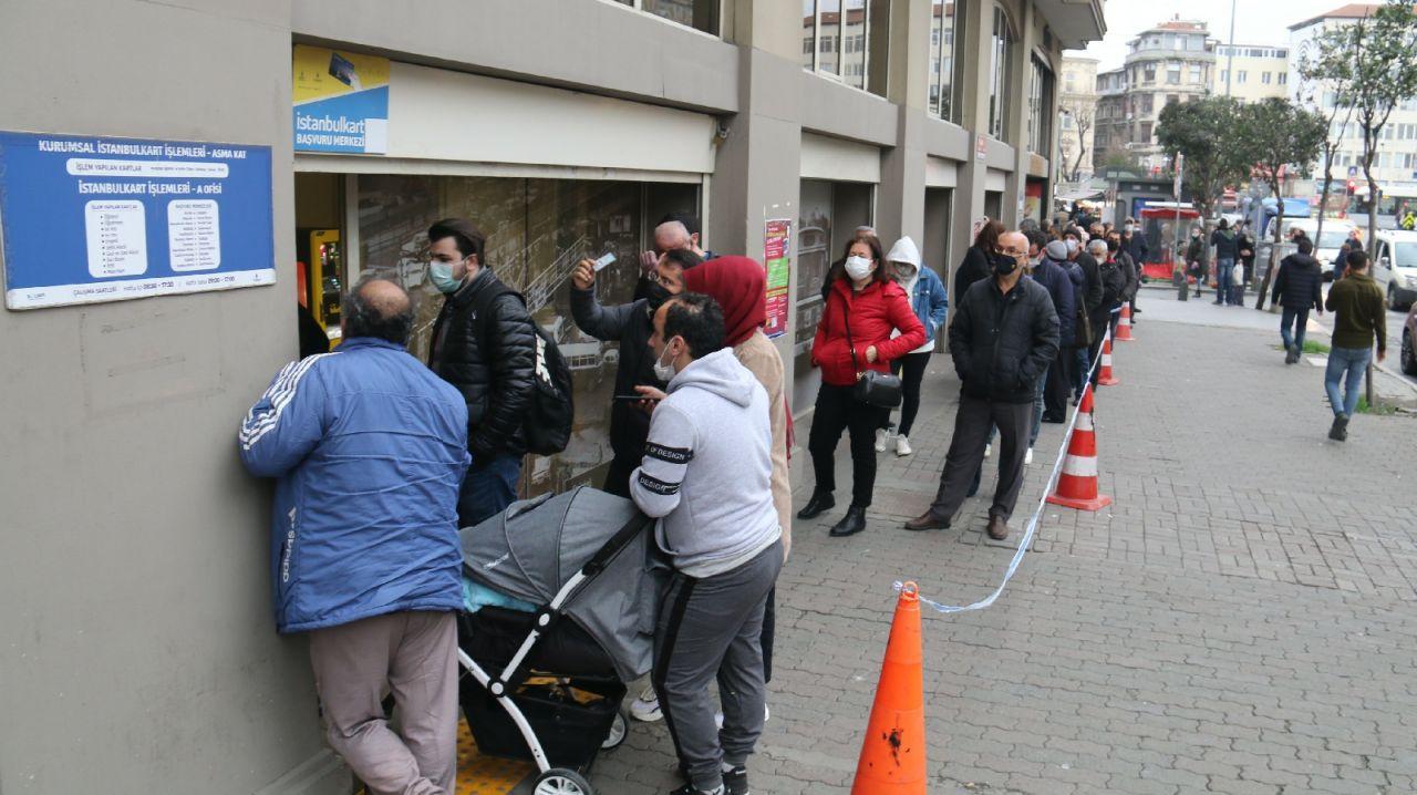 İstanbul'da vatandaşların HES kuyruğu isyanı