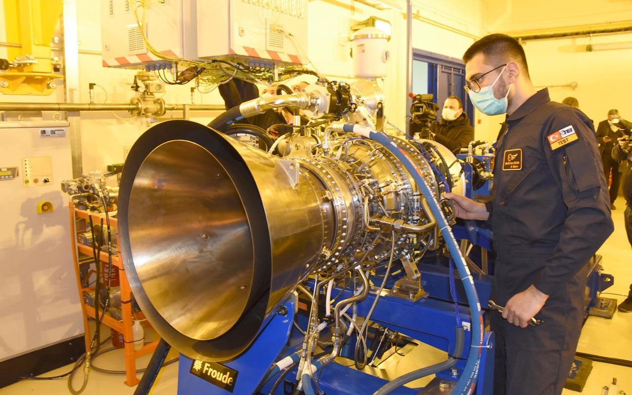 Helikopter için üretilen ikinci yerli motorun testinden haber var