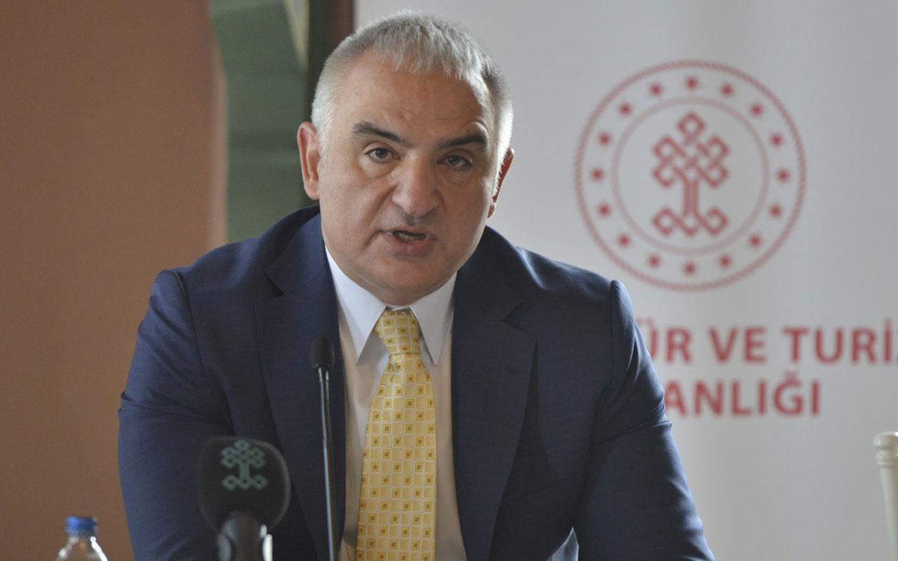 Kültür ve Turizm Bakanı Mehmet Nuri Ersoy: Etkinlikler Mart ayı itibariyle başlayabilir