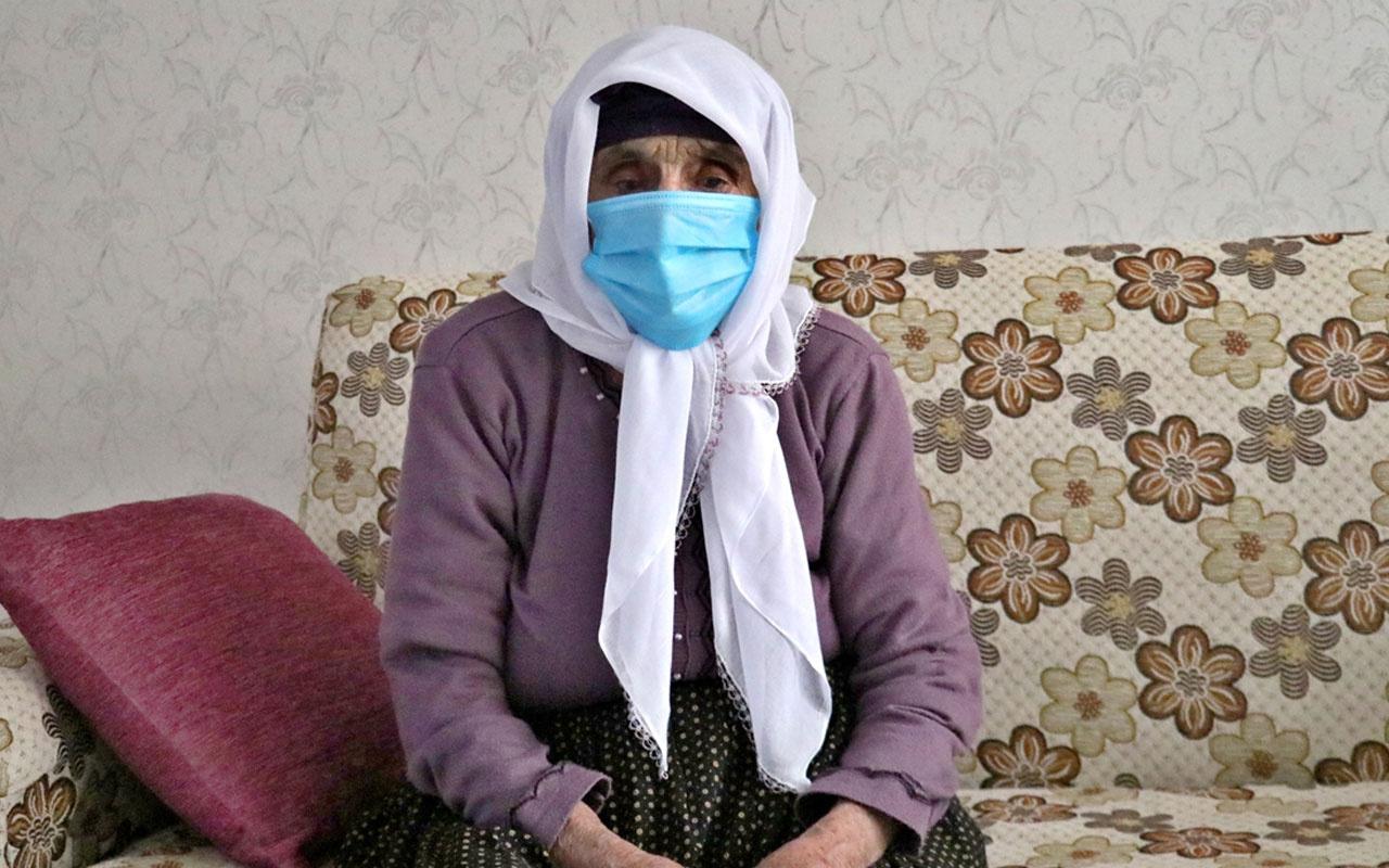 Elazığ'da 102 yaşındaki Şahide Gürbüz koronavirüsü yendi! 80 torunu var