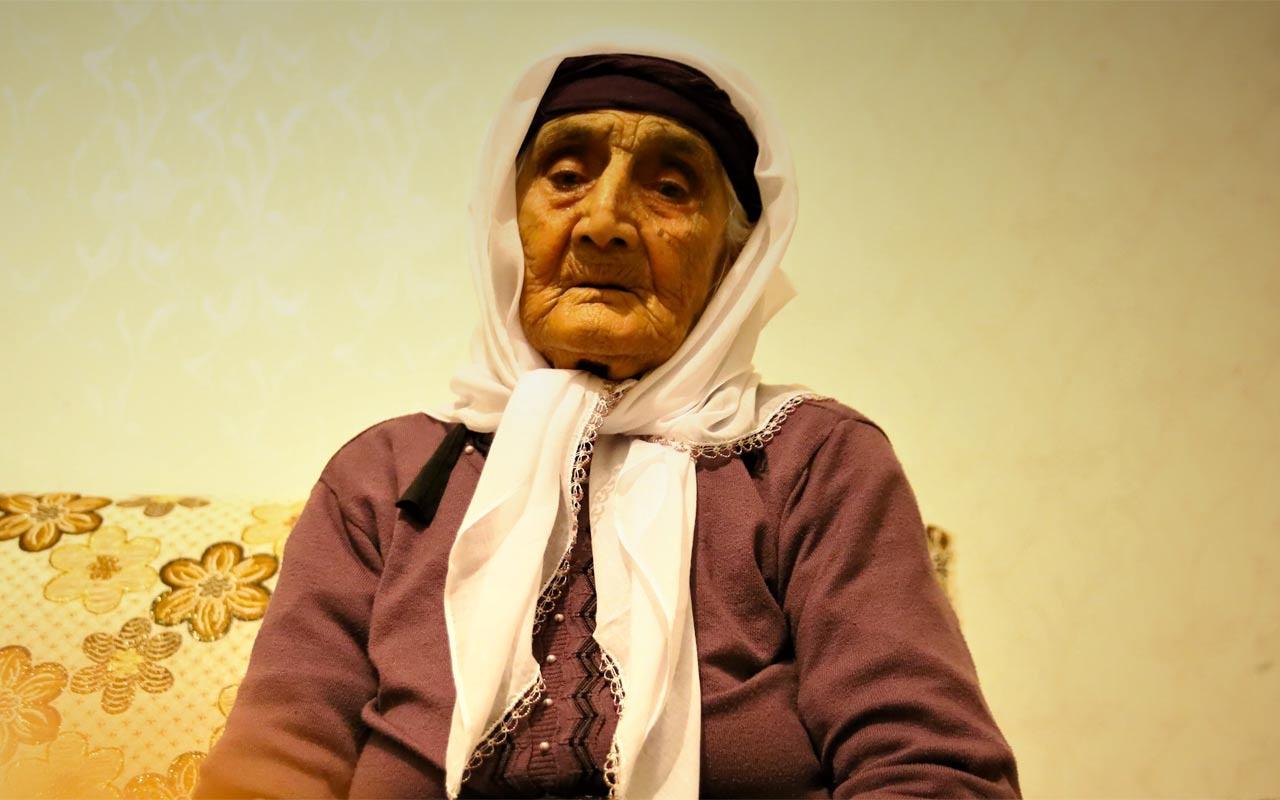 Hayatında 1 kez hastaneye giden 80 torunlu 102 yaşındaki Şahide nine, Covid-19'u evinde yendi