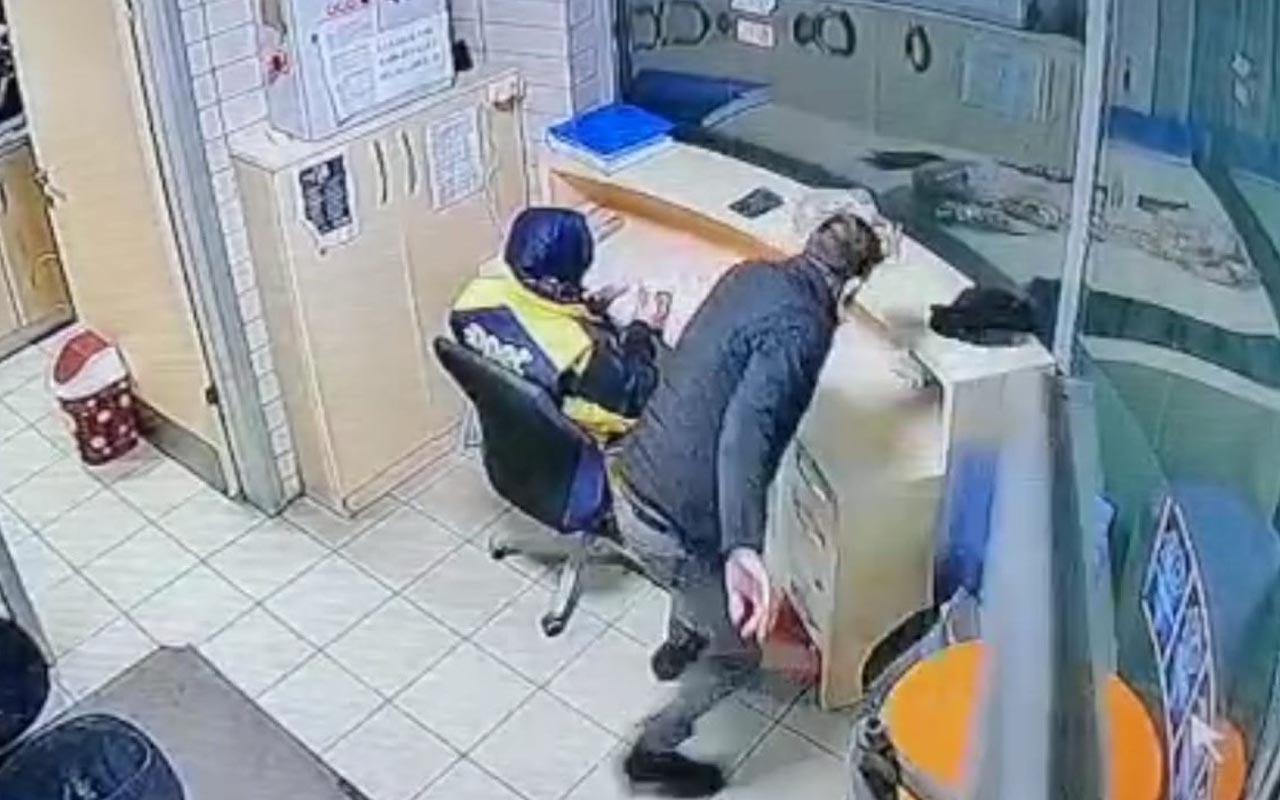 Kayseri'de kadın çalışana hırsızlık şoku! Arkasından yaklaştı paraları çalıp kaçtı