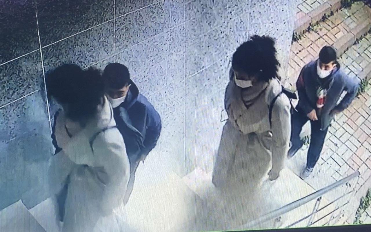 İstanbul'da genç kadının yaşadığı kapkaç dehşeti kameraya yansıdı