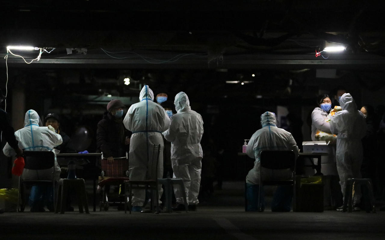 Çin'de Langfang kenti koronavirüs nedeniyle karantinaya alındı