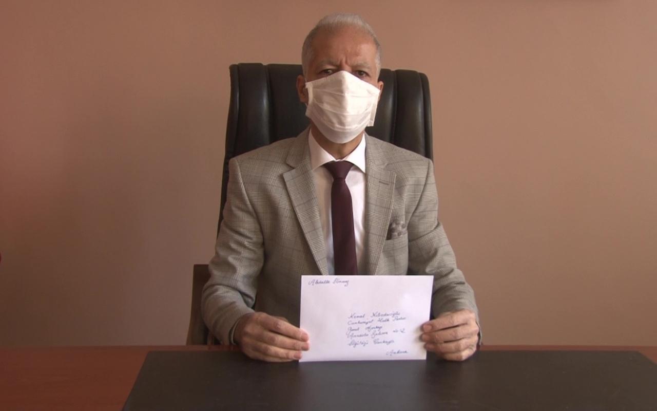 CHP lideri Kemal Kılıçdaroğlu'na tepki gösterdi! Hatay'da okul müdürü 7 maaşını bağışladı