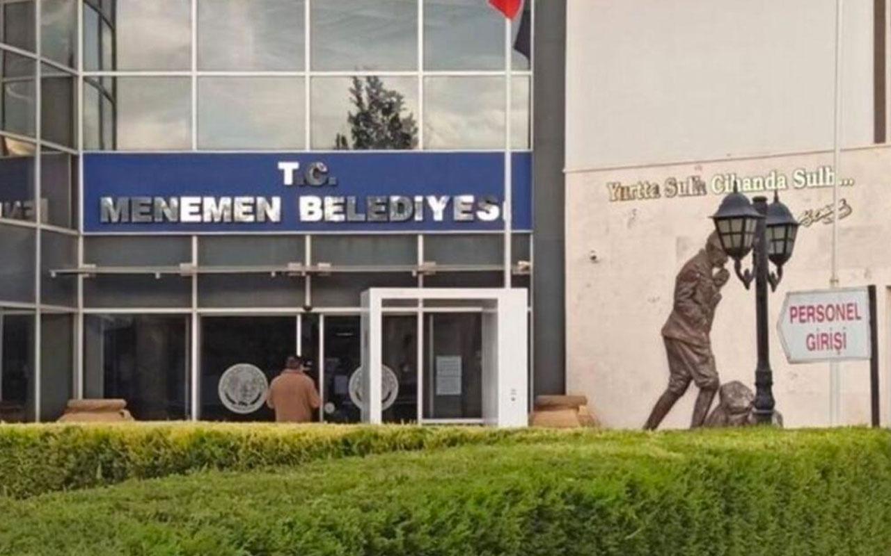 Menemen Belediyesi'nde Başkanvekili AK Parti'li Pehlivan oldu kurayla belirlendi