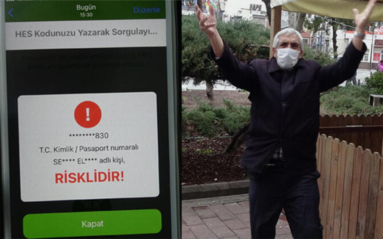 Çanakkale'de koronavirüs şüphelisi göbek atıp spor yaptı