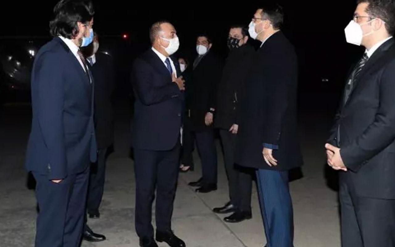 Dışişleri Bakanı Mevlüt Çavuşoğlu Pakistan'da