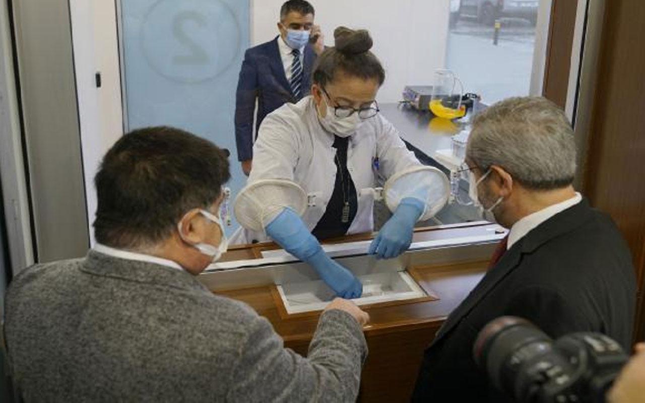 Türkiye'nin ilk 'Akıllı Covid 19 Test Merkezi' açıldı! 15 günde yapıldı detayları bomba