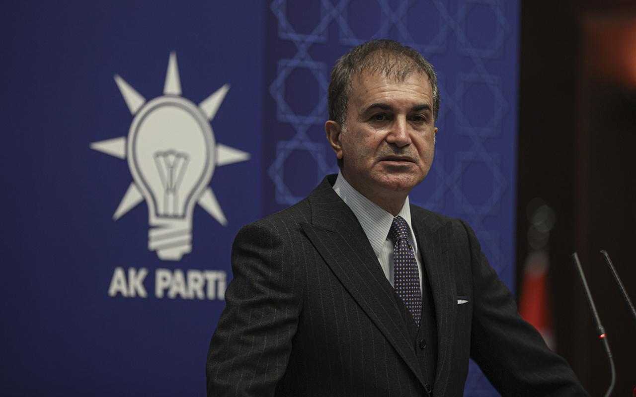 AK Partisi Sözcüsü Ömer Çelik'ten önemli açıklamalar