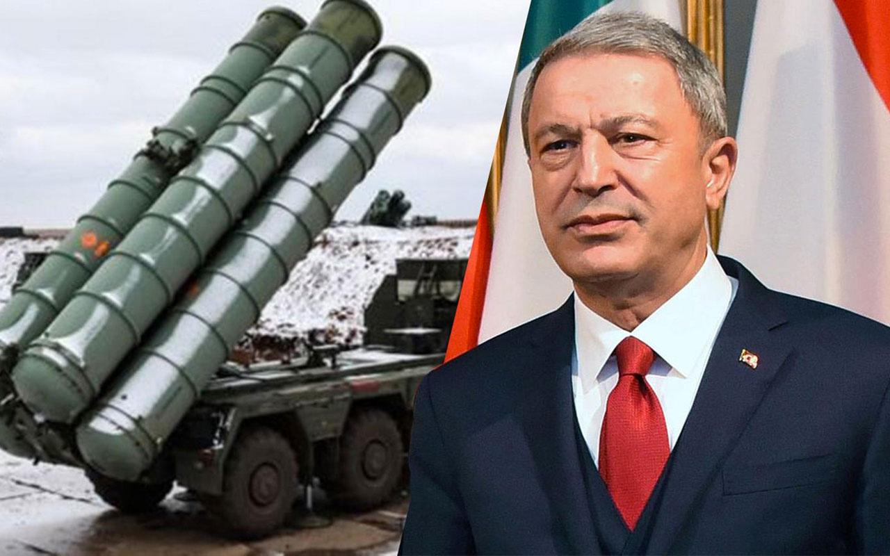 Bakan Hulusi Akar'dan S-400 ve ABD yaptırımlarına ilişkin önemli açıklamalar!