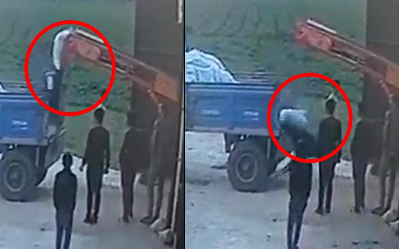 Mardin'de dikkatsizlik ölümüne neden olacaktı! Korkunç kaza kamerada