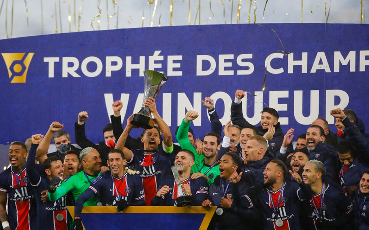 Fransa Süper Kupa'sı üst üste 8. kez PSG'nin