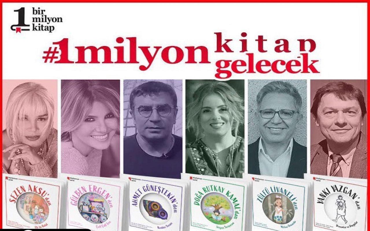 1 Milyon Kitap Projesine tanınmış isimlerden tam destek
