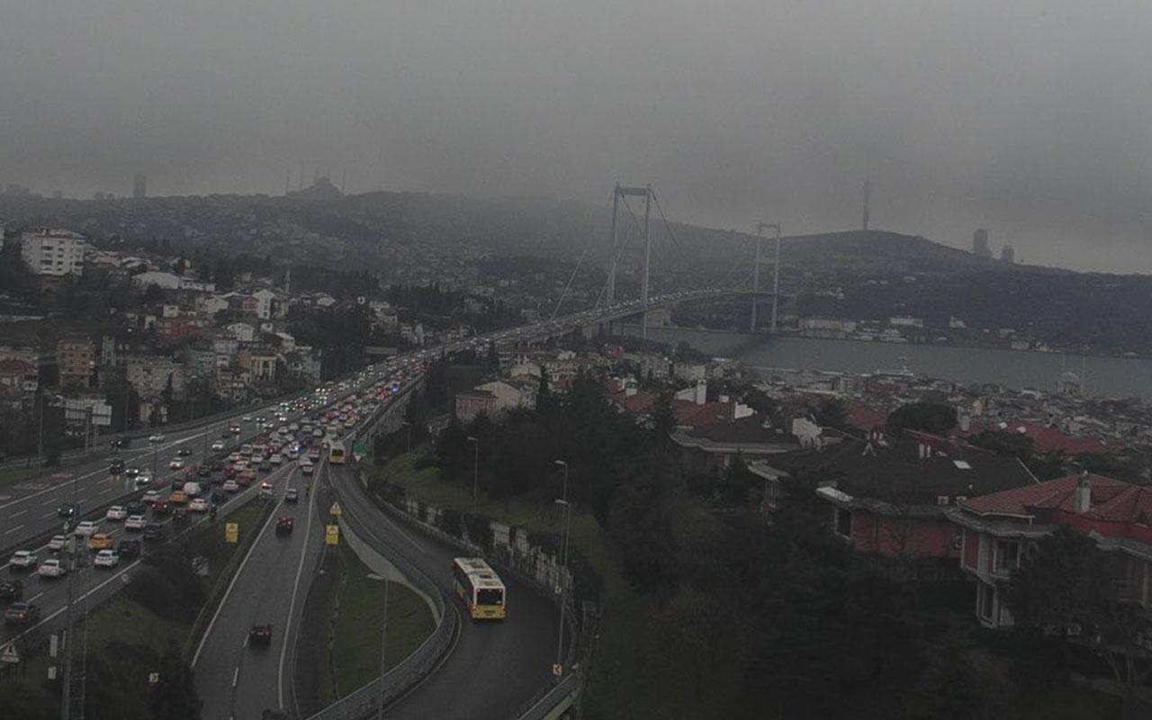 İstanbul'da kar yağışı başladı! İşte İstanbul'dan ilk kar manzaraları...
