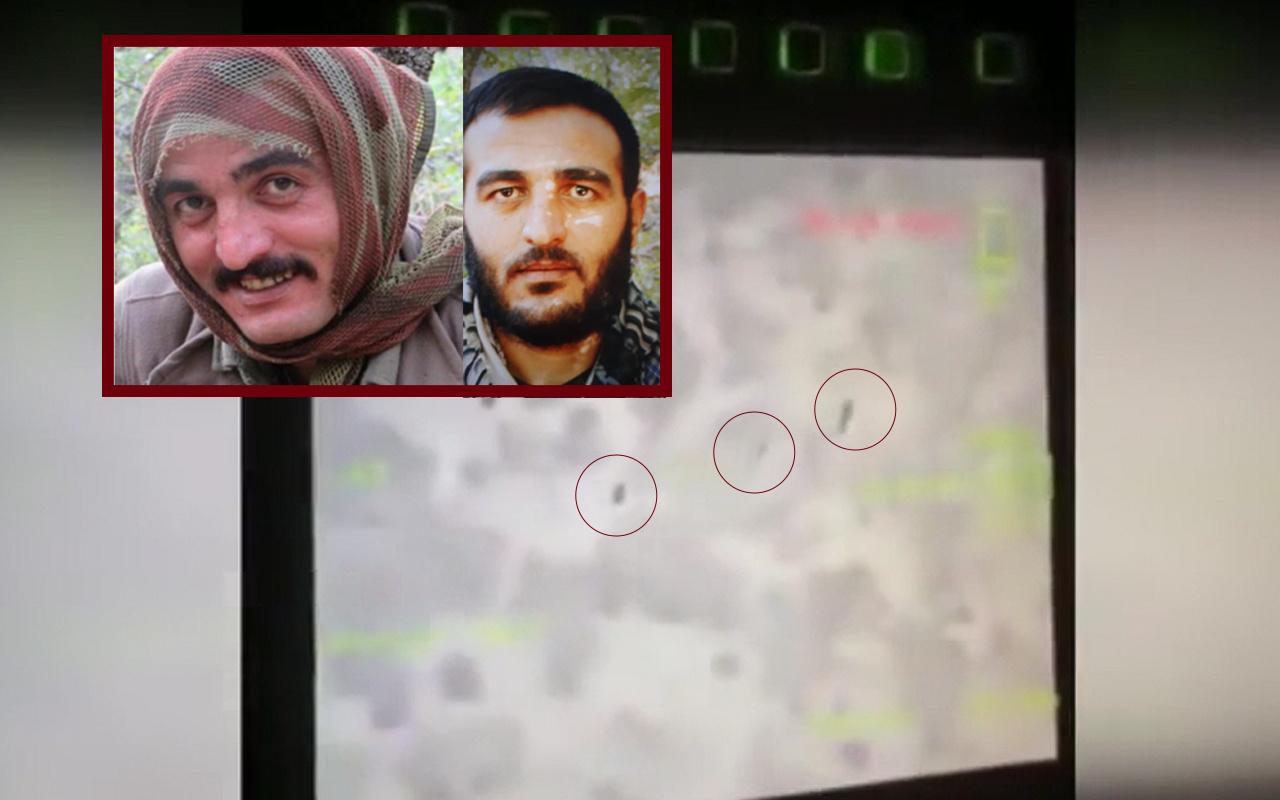 Bitlis'te teröristlerin etkisiz hale getirildiği anların görüntüsü ortaya çıktı