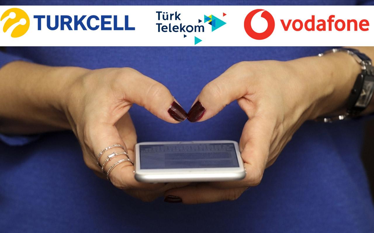 Turkcell, Türk Telekom ve Vodafone'dan dev işbirliği! Artık o uygulamalar internet harcamayacak