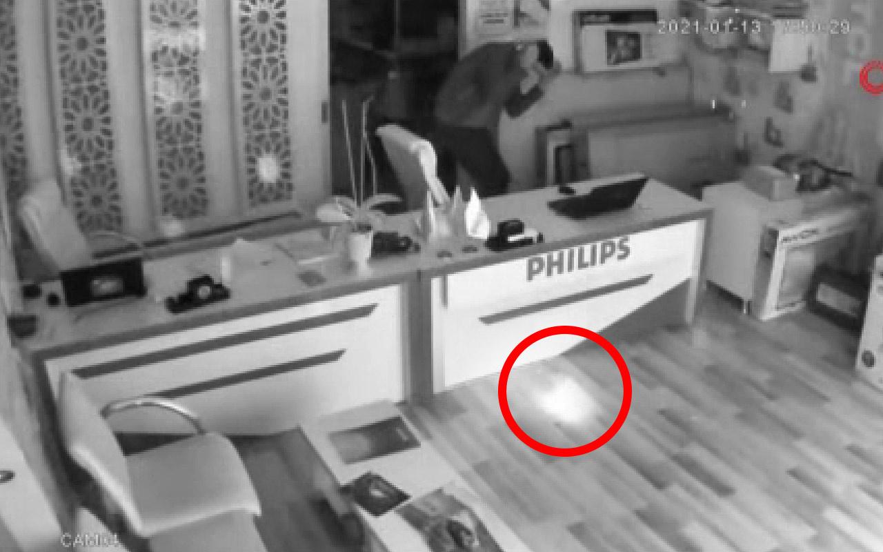 Antalya'da dükkanda patlamayla şok oldular kameraya bakınca gerçek ortaya çıktı