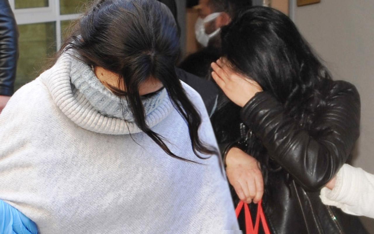 Antalya'da bölgeye göre elbise giyiyorlardı! Altın kızlar yakayı ele verdi