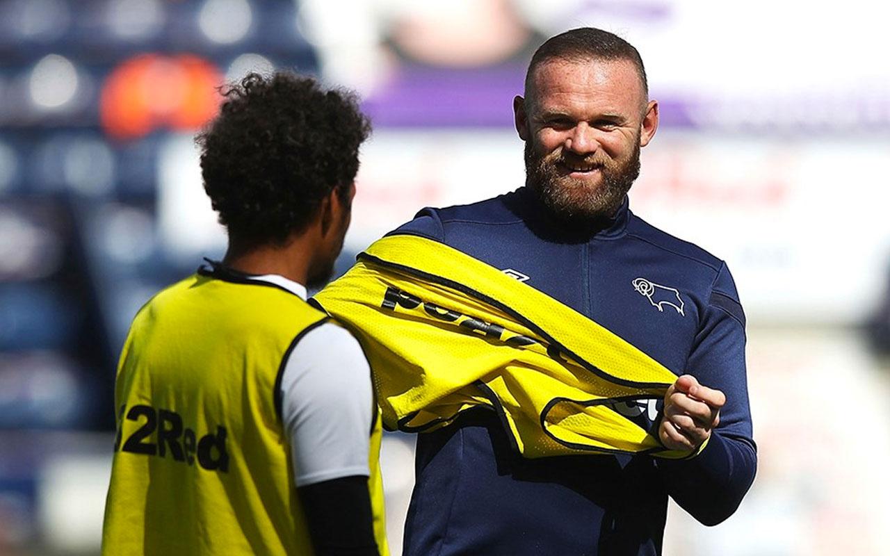 Derby County'de yeni menajer Wayne Rooney