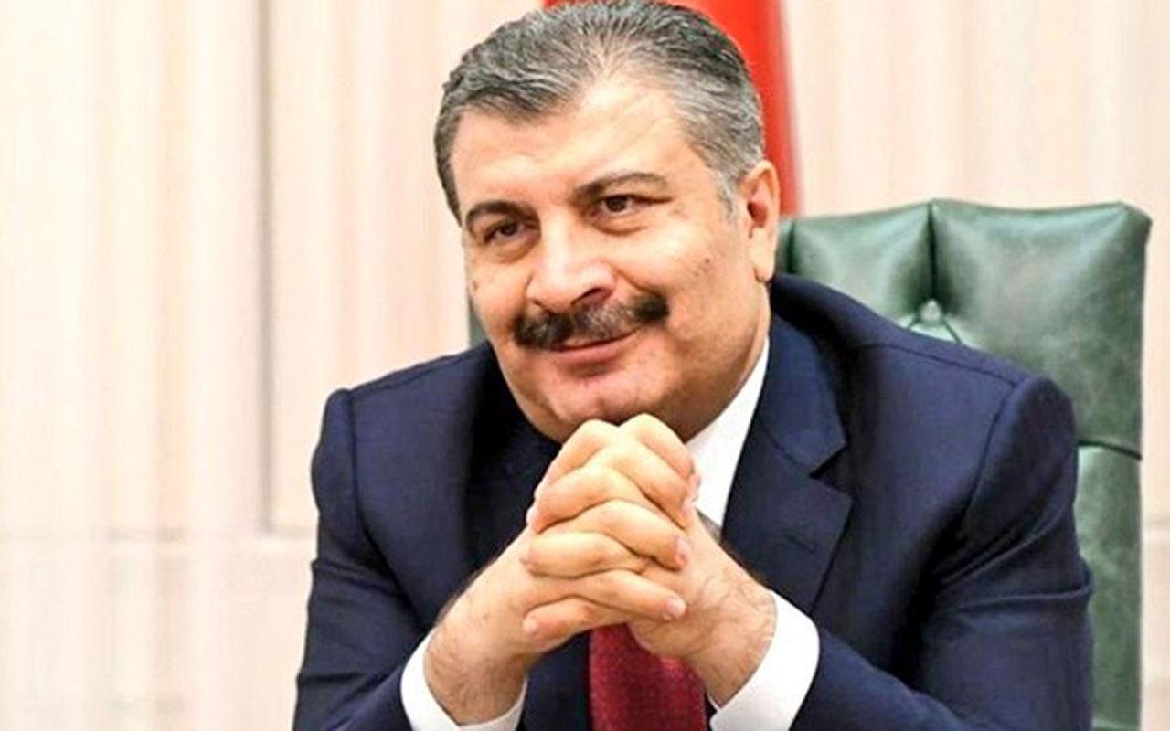 Sağlık Bakanı Fahrettin Koca'dan Devlet Bahçeli ve Meral Akşener'e teşekkür