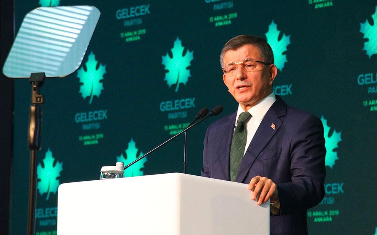 Ahmet Davutoğlu'dan çok sert 'Özdağ'a saldırı' tepkisi: Siyasi terördür