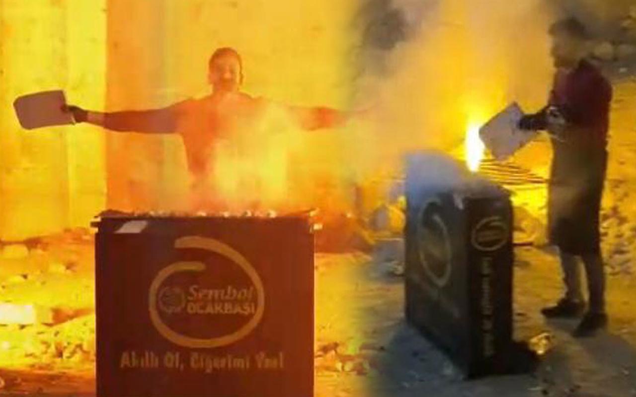 Şanlıurfa'da tarihi kilisede mangal yaptı! Savunması pes dedirtti