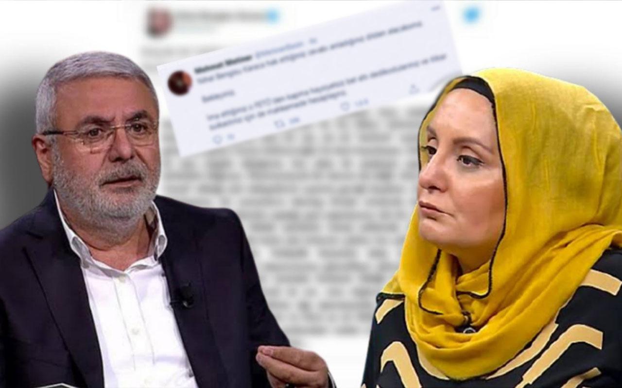 Nihal Bengisu Karaca-Mehmet Metiner kavgası! 'Bu elemanın yalanını yüzüne çarpmazsanız...'