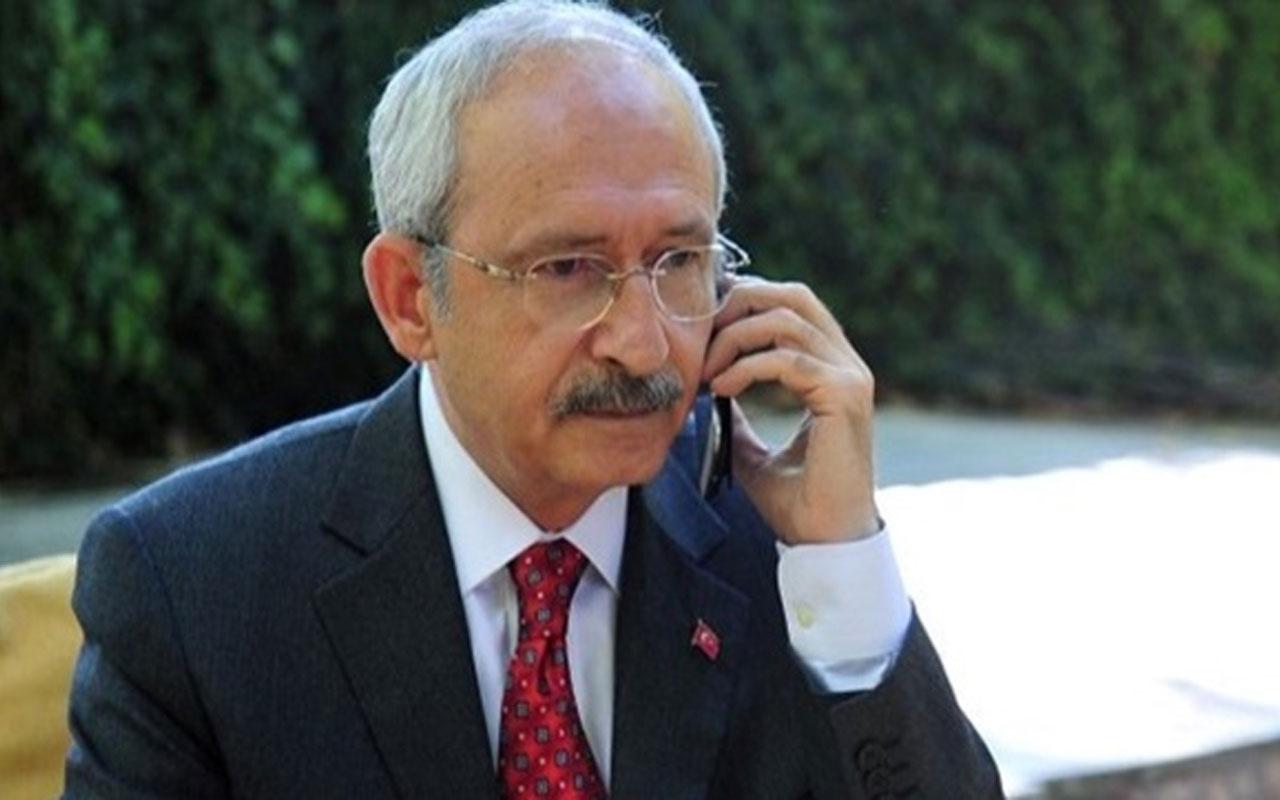 """Kemal Kılıçdaroğlu'ndan Orhan Uğuroğlu ve Afşin Hatipoğlu'na """"geçmiş olsun"""" telefonu"""