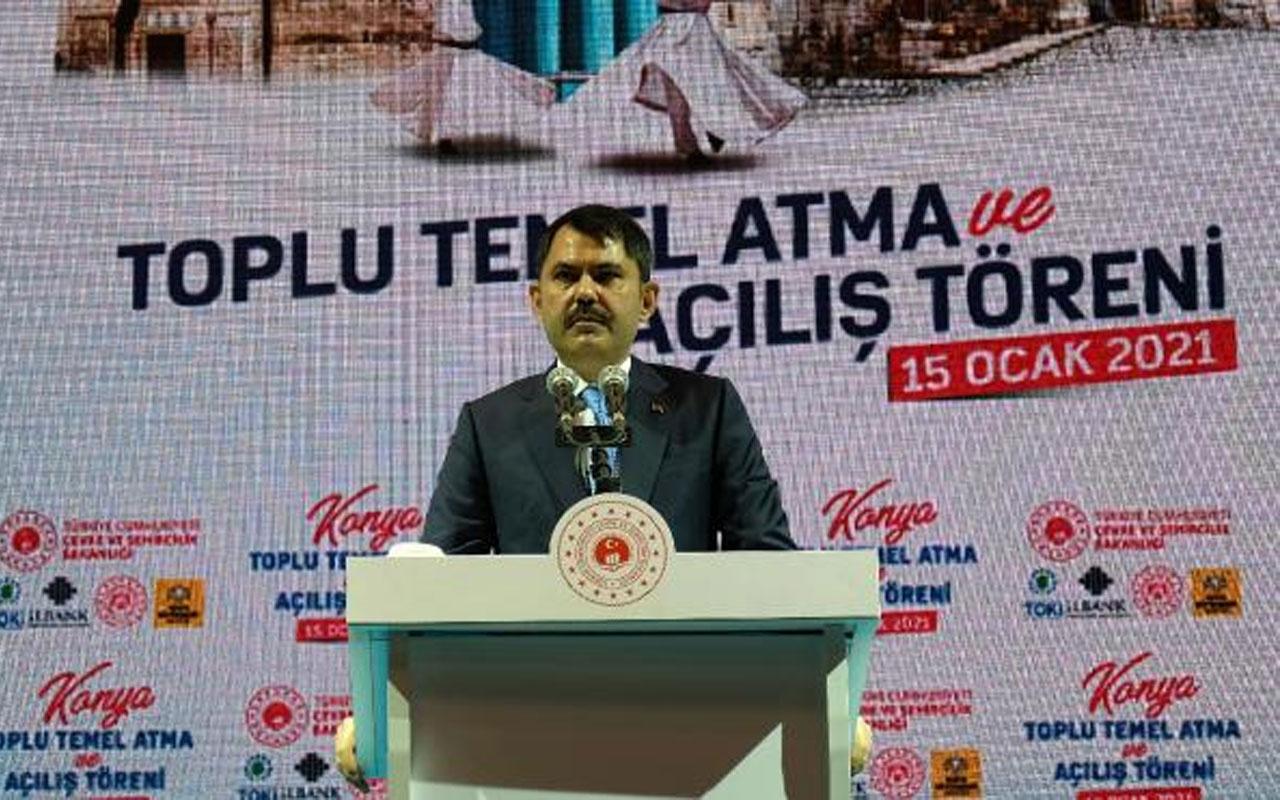 Çevre ve Şehircilik Bakanı Murat Kurum: Mevlana Meydanı dünyanın önemli meydanları arasına girecek