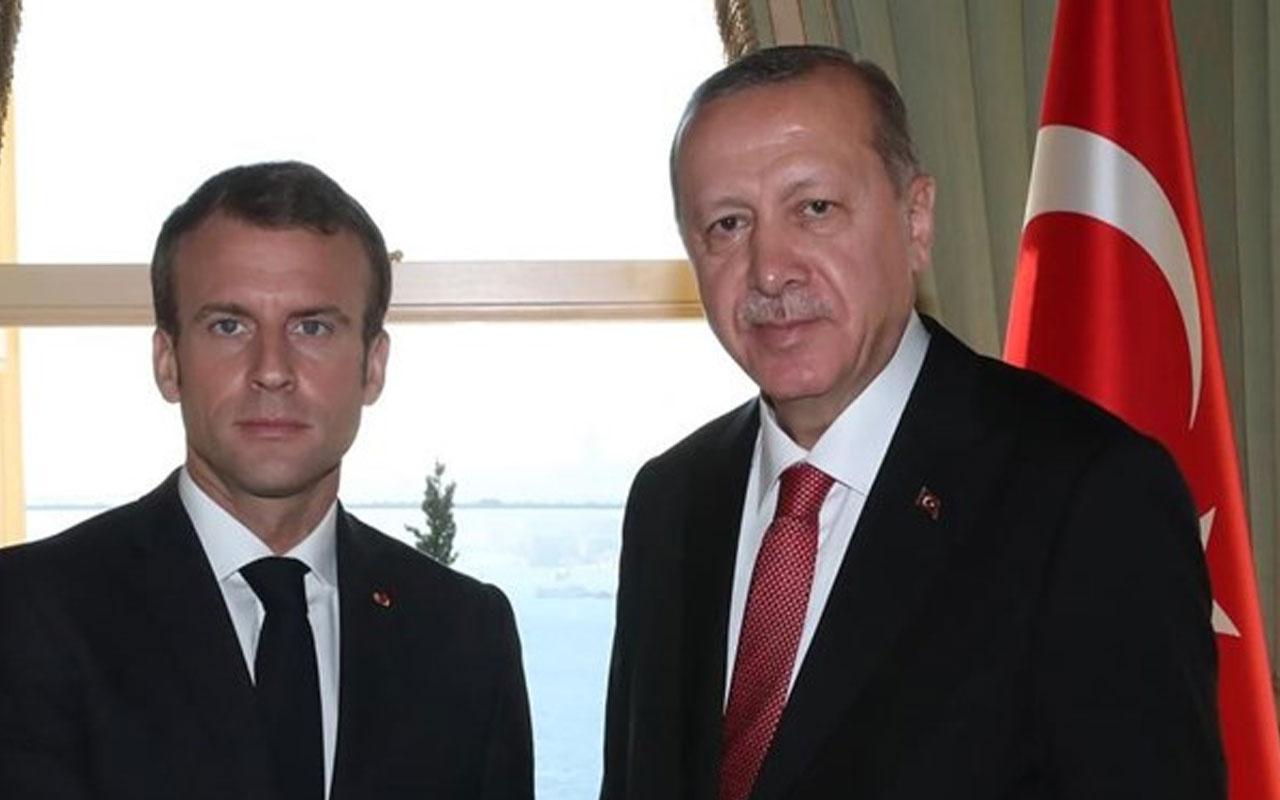 Fransa Cumhurbaşkanı Macron'dan, Cumhurbaşkanı Erdoğan'a mektup