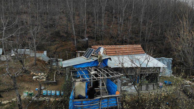 Bursa'da evinin çatısına düştü servet sahibi oldu cazip teklifler bekliyor