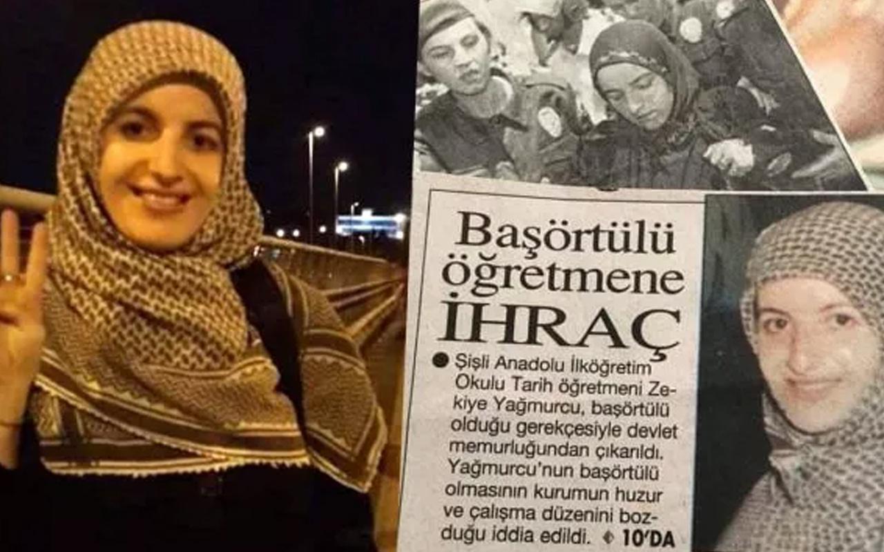 28 Şubat mağdurlarından öğretmen Zekiye Yağmurcu hayatını kaybetti