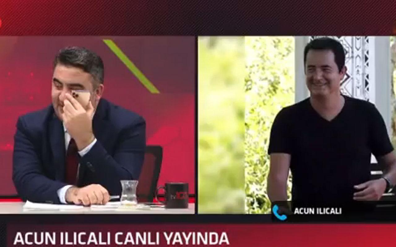 Acun Ilıcalı, Ümit Özat'ın Mesut Özil sorusuna bozuldu