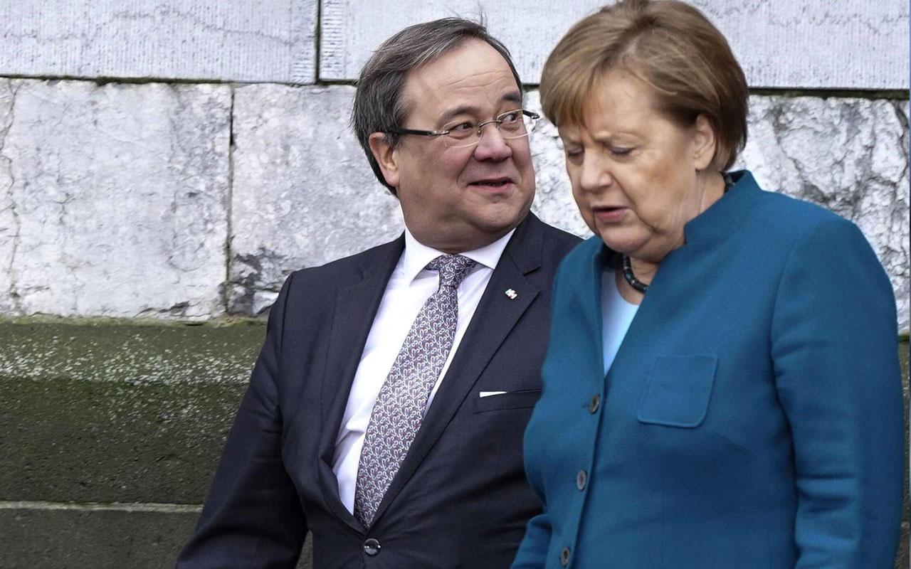 Almanya Başbakanı Merkel'in partisi CDU'nun yeni başkanı Armin Laschet seçildi
