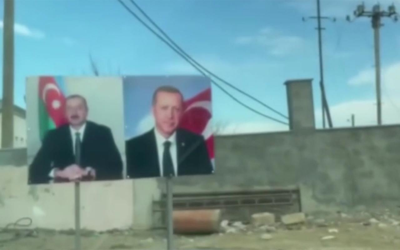 Aliyev'in Şuşa gezisinde dikkat çeken görüntüler